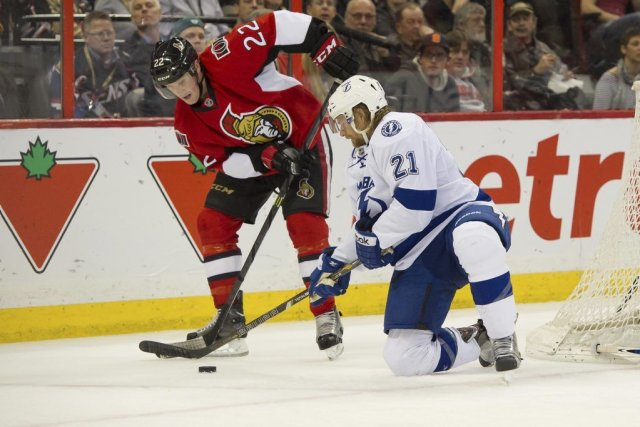 Eric Brewer et Ryan Callahan ont marqué au bon moment et le Lightning de Tampa... (Photo USA TODAY Sports)