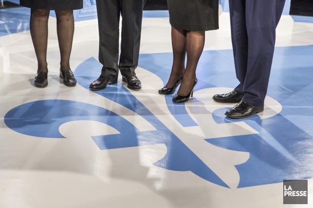 Le débat des chefs est bien souvent le... (Photo Olivier PontBriand, La Presse)