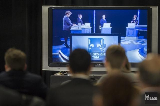 Les chefs de parti disent-ils toute la vérité lors du débat? Leurs déclarations... (PHOTO OLIVIER PONTBRIAND LA PRESSE)