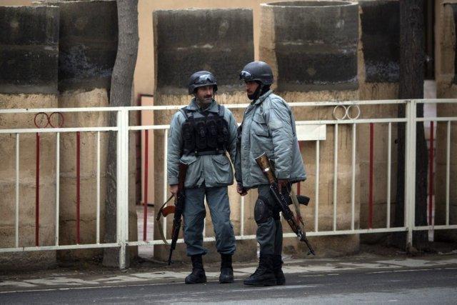 L'assaut, revendiqué par les talibans, s'est terminé trois... (PHOTO AP)