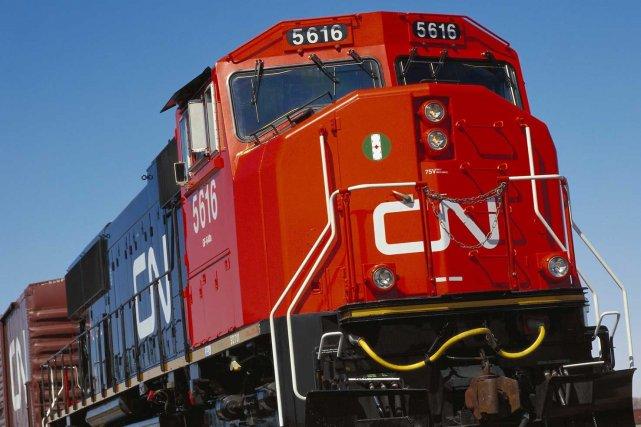 Le CN a annoncé samedi soir que le... (PHOTO ARCHIVES REUTERS)