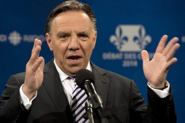 François Legault... (Photo La Presse Canadienne)