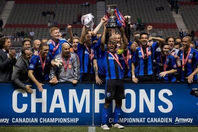 L'Impact a remportéle championnat canadien la saison dernière.... (PHOTO ARCHIVES LA PRESSE CANADIENNE)
