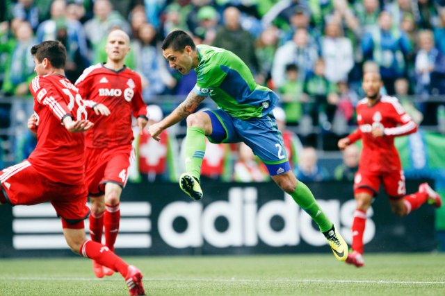 La MLS a suspendu Clint Dempsey (2) pour... (PHOTO JOE NICHOLSON, USA TODAY)