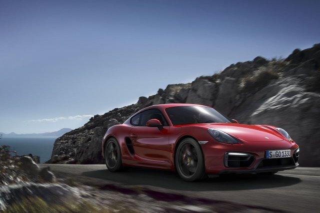 La nouvelle Porsche Cayman GTS... (Photo fournie par Porsche)