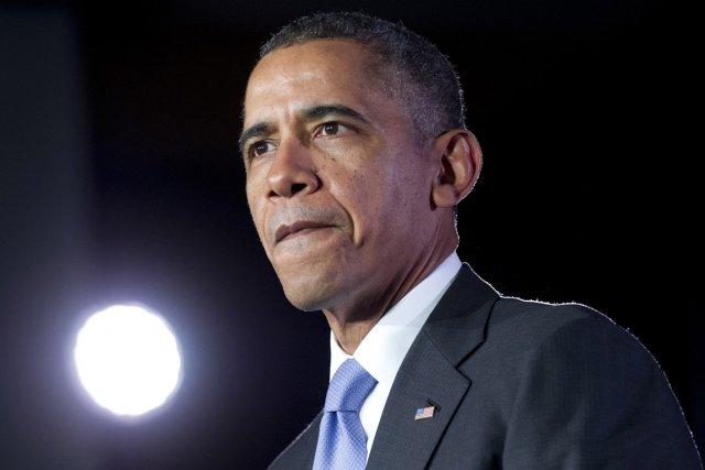 M. Obama entreprend lundi une tournée de six... (Photo Saul Loeb, AFP)