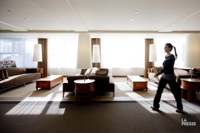 L'Hôtel Bonne Entente, à Québec, a choisi de... (PHOTO MARCO CAMPANOZZI, LA PRESSE)