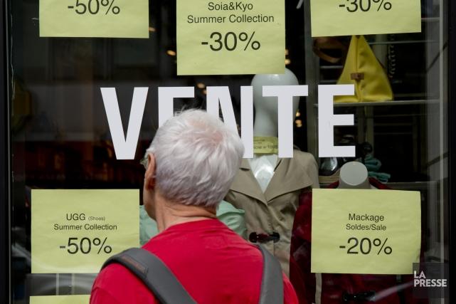 Les consommateurs se montrent de plus en plus... (Photo David Boily, archives La Presse)
