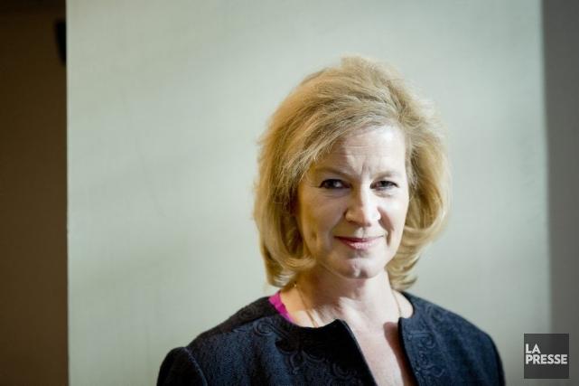 Janet Kennedy, nouvelle PDG de Microsoft Canada, a... (PHOTO MARCO CAMPANOZZI, LA PRESSE)