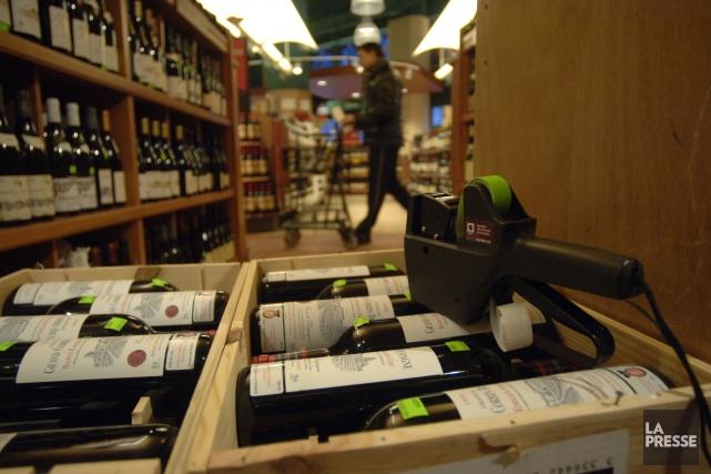 Le vin compte pour 83,4% des revenus de... (Photo Martin Chamberland, Archives La Presse)