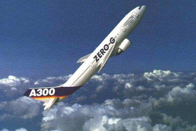 L'Airbus A300-ZERO-G est un véritable laboratoire scientifique volant.... (Photo tirée de l'internet)