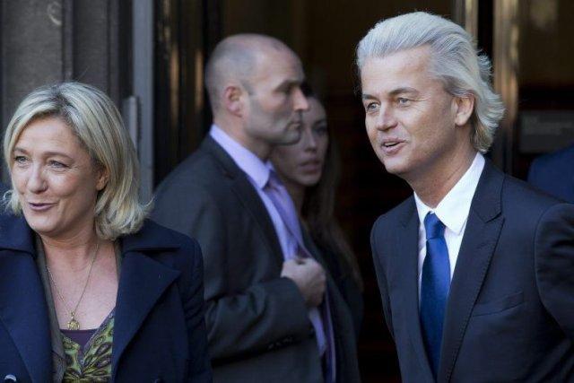 Le politicien Geert Wilders, en novembre 2013, en... (Photo Peter Dejong, AP)