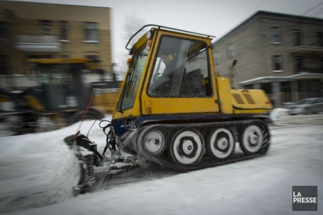 15centimètres de neige sont attendus à Montréal.... (Photo Olivier Jean, La Presse)