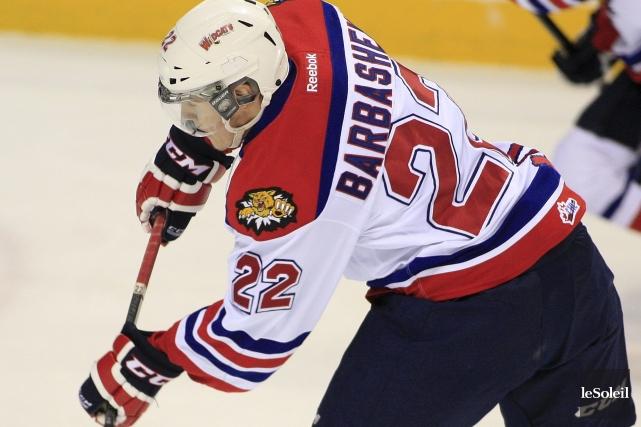 Ivan Barbashev, des Wildcats de Moncton, est un... (Photo d'archives Le Soleil, Pascal Ratthé)