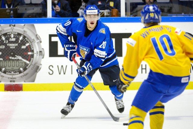 Teuvo Teravainen a brillé au Championnat du monde... (Photo Ludvig Thunman, Associated Press)
