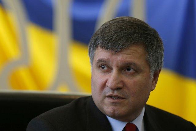 Arsen Avakov, le ministre ukrainien de l'Intérieur, en... (Photo David Mdzinarishvili, Reuters)