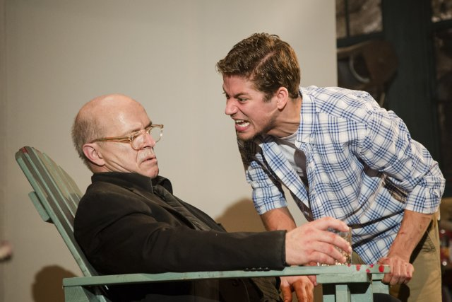 Le peintre Mark Rothko est narcissique et a... (Photo fournie par le Théâtre du Rideau Vert)