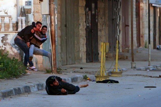 Les troupesisraéliennes ont ouvert le feu et tué... (Photo Mohammed Ballas, AP)