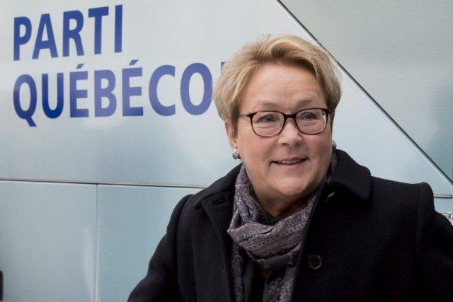 La chef du Parti québécois, Pauline Marois... (PHOTO LA PRESSE CANADIENNE)