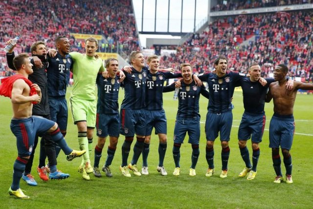 Le Bayern Munich s'approche grandement de son 24e... (Photo Kai Pfaffenbach, Reuters)