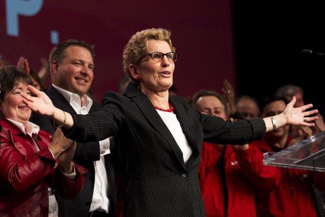 La première ministre ontarienneKathleen Wynne.... (Photo Nathan Denette, La Presse Canadienne)