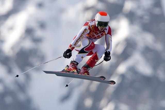 Morgan Pridy a décroché le titre canadien en descente en étant le plus rapide... (Photo archives La Presse Canadienne)