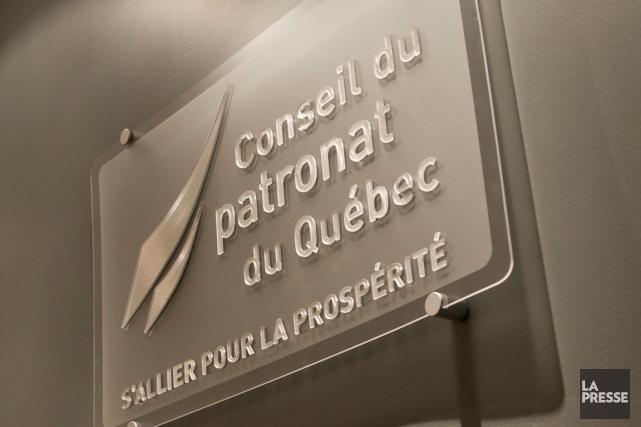 Selon l'auteur, le Conseil du patronat du Québec... (PHOTO HUGO-SÉBASTIEN AUBERT, LA PRESSE)