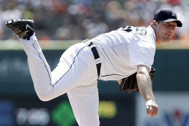 Max Scherzer, des Tigers de Detroit.... (Photo Paul Sancya, AP)