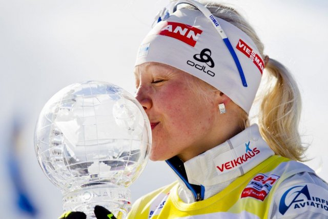 Kaisa Makarainen... (Photo Vegard Groett, Reuters)