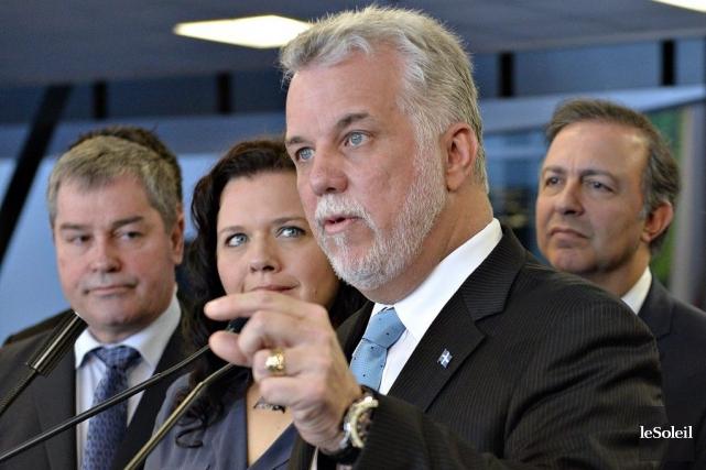 Le chef libéral affirme que c'est au DGEQ,... (PHOTO PASCAL RATTHÉ, LE SOLEIL)