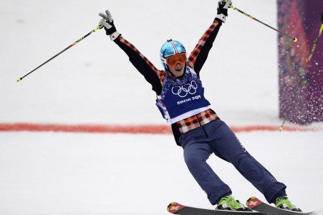 Plus tôt cette année, Marielle Thompson a gagné... (PHOTO FRANCK FIFE, ARCHIVES AFP)