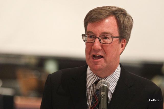 Le maire d'Ottawa, Jim Watson.... (Patrick Woodbury, Archives LeDroit)