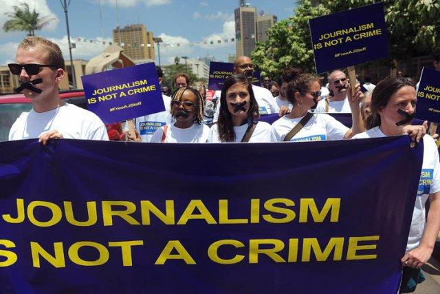 Les autorités accusent Al-Jazira de servir de plateforme... (Photo: AFP)