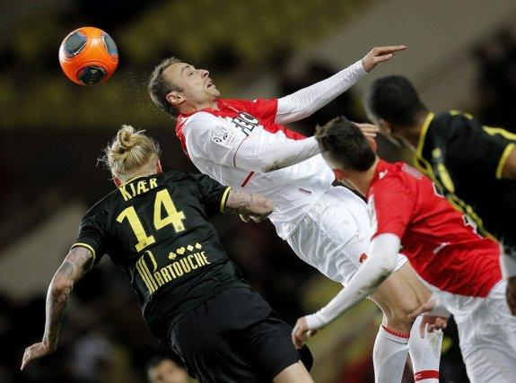 Tenu en échec par Lille en Principauté dimanche, Monaco (1-1) a laissé filer le... (Photo: AP)