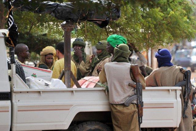 La France a envoyé des troupes au Mali... (Photo: AFP)
