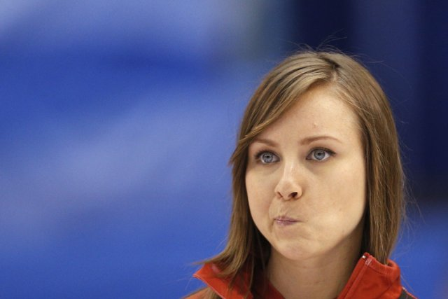 Rachel Homan... (Photo: Reuters)