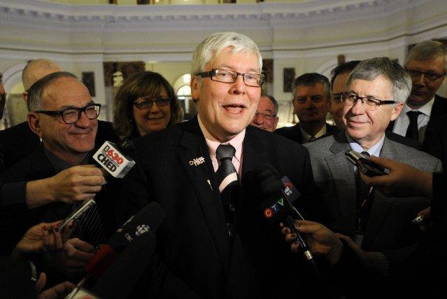 DaveHancock a été élu par les membres du... (Photo DAN RIEDLHUBER, Reuters)