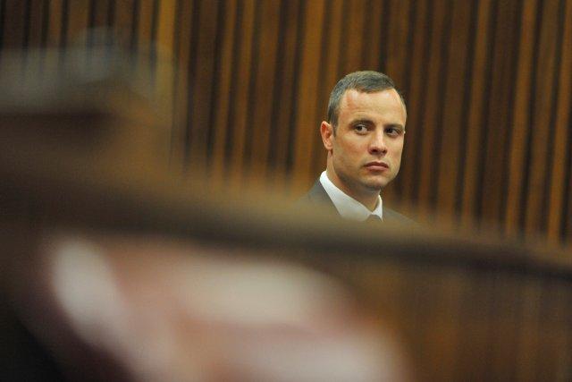 Le procès d'Oscar Pistorius est entré aujourd'hui dans... (PHOTO IHSAAN HAFFEJEE, AFP)