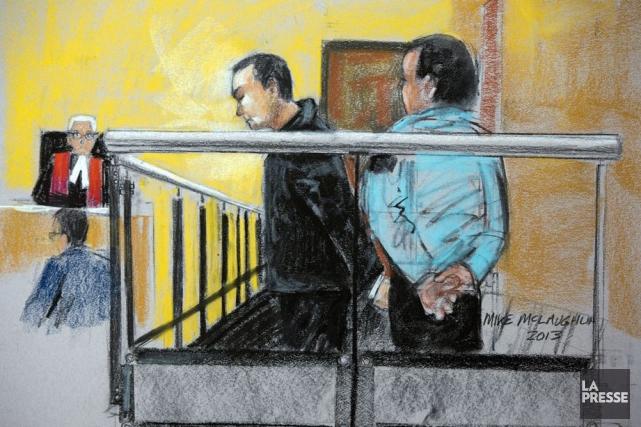 En 2014,Guy Turcotte subira un deuxième procès où... (ILLUSTRATION LA PRESSE CANADIENNE)