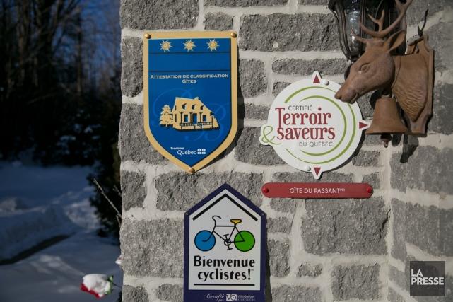 En 12 ans à peine, plus du quart des gîtes du Québec ont fermé leurs portes. Du... (Photo David Boily, La Presse)