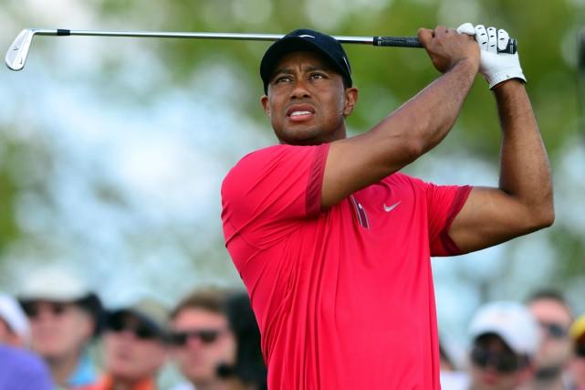 Ennuyé par des problèmes au dos, Tiger Woods... (Photo Andrew Weber, USA Today)