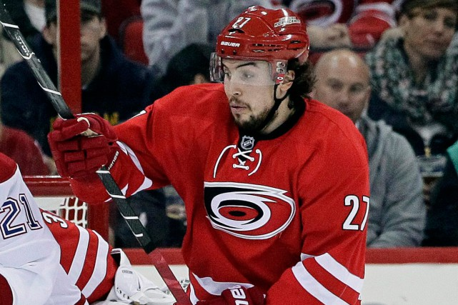 Justin Faulk... (Photo Gerry Broome, archives AP)