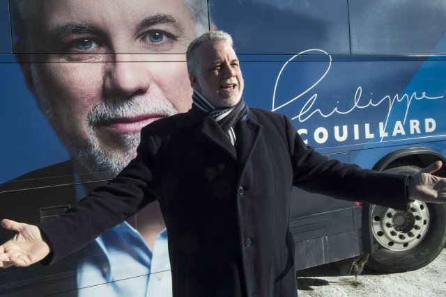 Le chef du PLQ, Philippe Couillard... (Photo Paul Chiasson, PC)