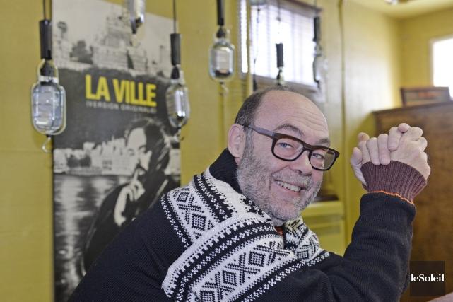 Jean Brouillard a fondé sa firme de relations... (Photo Jean-Marie Villeneuve, Le Soleil)