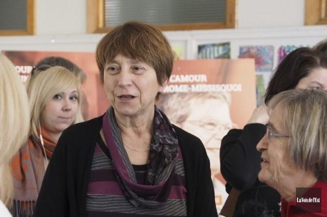 MmeDavid a indiqué que Pharma-Québec serait dotée d'un... (PHOTO MAXIME SAUVAGE, LA VOIX DE L'EST)