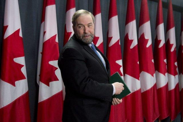 M.Mulcair estime que M.Harper a trop souvent fait... (PHOTO LA PRESSE CANADIENNE)