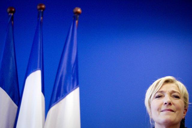 Le FN de Marine Le Pen a réussi... (PHOTO JOËL SAGET, AFP)