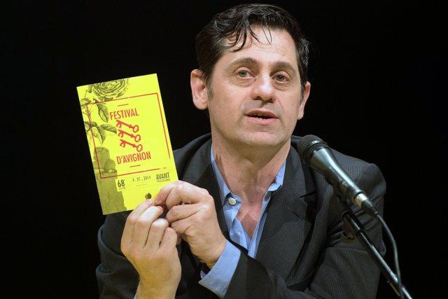 Olivier Py, directeur du Festival d'Avignon.... (Photo: AFP)