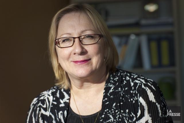 Marie Suzanne Lavallée est directrice générale adjointe, services... (Photo André Pichette, La Presse)
