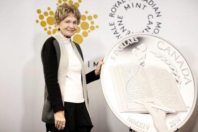 Alice Munro, âgée de 82 ans, était présente... (Photo: La Presse Canadienne)